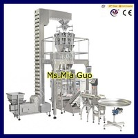 Granule sunflower seeds vertical automatic packing machine