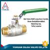 OUJIA 1 brass ball valve 1000 wog ball valves 3 way gate valve