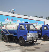 LUYING Brand 3 cbm Water Tank Truck with Self Suction Function from Jining Sitong
