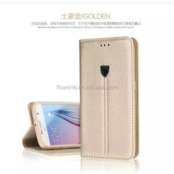 FL3546 XUNDD noble Slim Thin Fashion Flip Leather Stand Case with wallet Cover For samsung galaxy s6 edge