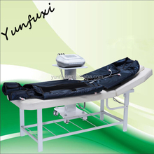 Air pressotherapy infrared beauty equipment/professional lymphatic drainage pressotherapy/pressotherapy device for home