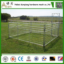 Class A round pen portable horse pens/portable sheep& goat panels pan panels