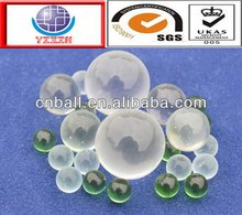 Newest best-selling 1.5mm 2mm 2.381mm 6mm 6.35mm clear solid glass ball