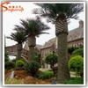 2015 professional factory manufacture decorative metal steel palm trees for sale