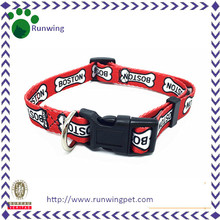 Heat Transfer Printing Personalized Dog Collar for Puppy