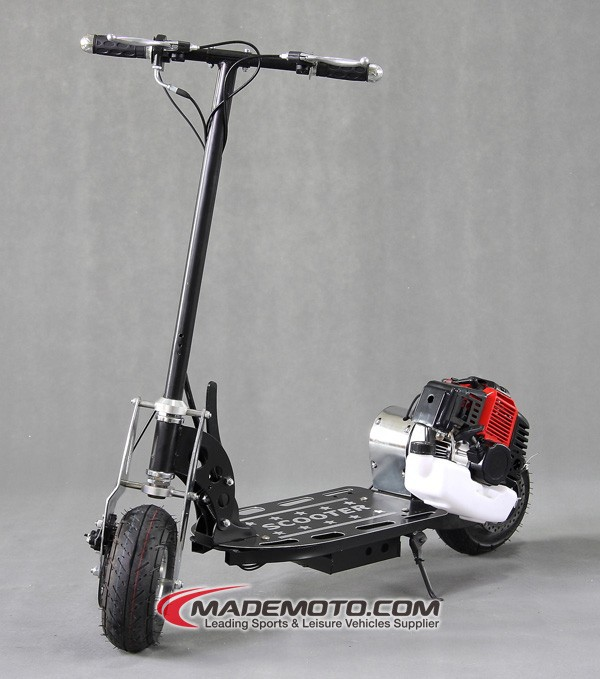 China cheap 2 wheel gas scooters for sale buy 2 stroke for Cheap gas motor scooters