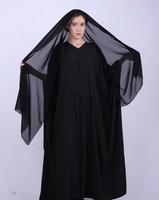 Islamic Butterfly Style Black Dubai muslim women praying abaya