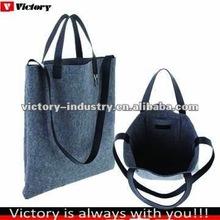 Cheap felt bag,customized fabric tote bag