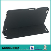 New design 3 folio stand leather case for Huawei MediaPad X2 7.0'