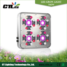 aluminum housing intelligent 400w led grow light with three independent channels