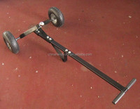 long handle hand tow trailer dolly for hand truck tool cart