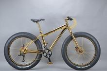 Luxurious 18K 26 inch fat bike cheapest bmx