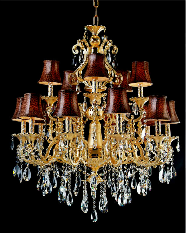lampe fabricant d 39 abat jour lustre en cristal moderne. Black Bedroom Furniture Sets. Home Design Ideas