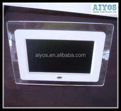 Loop Play Video/Music/Photos Photo Frame Wall Clock Calendar Full Functions Digital Photo Frame