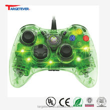 transparent video games controller for xbox360 controller