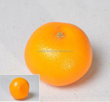 Fruit simulation model,artificial orange,foam yellow/green orange