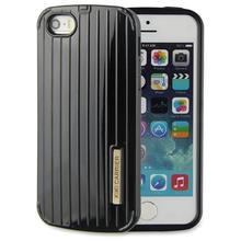 Fashion mobile Cell smart phone Plastic+TPU Suitcase traveling KIKI Carrier Luggage Case Design back Cover for iPhone 5 5s