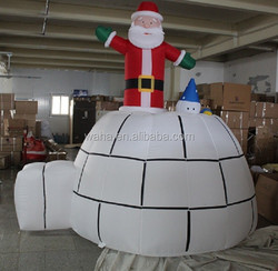 10ft christmas event inflatable/santa/house/event christmas inflatable W246