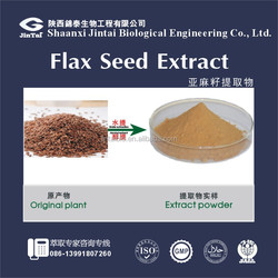 cosmetic grade skin whitening linseed extract (lignans 40%)