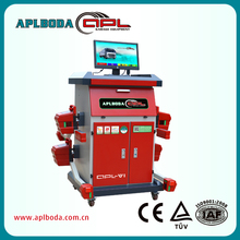 CCD bluetooth wireless laser truck wheel alignment and balancing machine