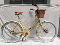 Steel Lugged Frame 28 Inch City Bicycle/Utility Bike/Vintage Bike