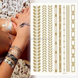 Wholesaler flash temporary glitter tattoo crown tattoo anchor temporary tattoos