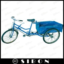 """SIBON 26"""" pedal cargo tricycle with cabin of different sizes"""