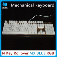 VMQ-39 OEM factory price professional aluminum alloy interface wired backlit gaming mechanical keyboard