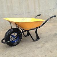 French Wheelbarrow Reinforced Tray Spoke Rim With Bearings WB6281