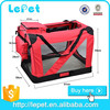 High quality portable soft fold pet travel crate,aluminum dog pet carrier,pet bag carrier