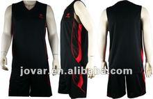 Jovar Professional Basketball Jersey Set