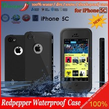 Factory Price Original Redpepper Waterproof Snowproof Case Full Protective for Apple iPhone 5C