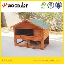Solid wood wooden rabbit cages for sale