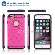 10pcs stock available Phone Accessory case PC+TPU combo Case Cover for Iphone6