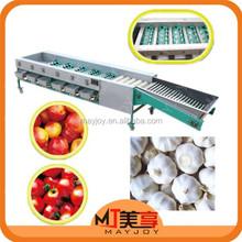 Top Quality Fruit Process Plant/Garlic Sorting Machine/Onion Grading Machine