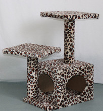 Top quality Leopard print cat scratchers Cat tree cardboard pet toys