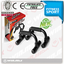 push up bar home training chin-up bar chromed gym bar with neoprene handle