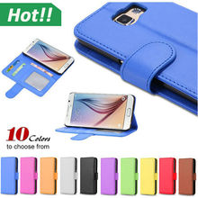 Classic fashion design flip wallet leather case for Samsung galaxy S3 S4 S5 s6 edge