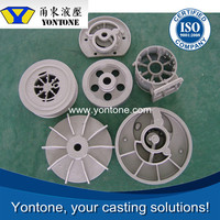 Yontone YT458 ISO Verified High Density AlSi9Cu3 AlSi12Fe A380 ADC12 Alloy Aluminum Die Casting Impeller