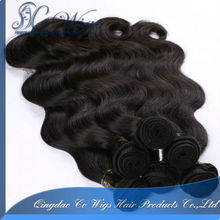 Without chemical processed virgin brazilian hair weave with factory price