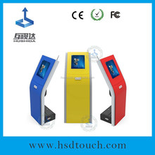 22inch queue management system machine with calling system