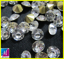 ss6 Clear Point Back China Crystals Wholesale For Dress