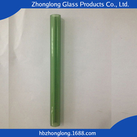 Professional Custom-made Borosilicate Glass Tube With Heavy Wall Thickness