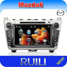 special in dash 8 inch 2 din car dvd player with gps navi for mazda 6