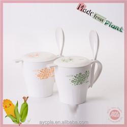 clear healthy Bpa Free plastic Drinking breakfast Cup