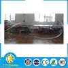 Transparent inflatable helium blimp for advertising, advertising inflatable blimp