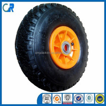 Manufacturer inflatable rubber wheel 3.00-4