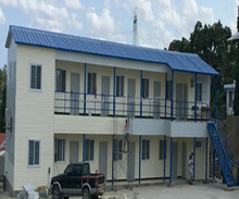 prefabricated steel dormitory & office