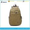 2015 fashion canvas backpack school bag