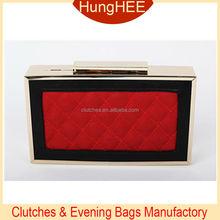PU Material Evening Bag Box Clutch Purse Wholesale evening clutch HH-P1841
